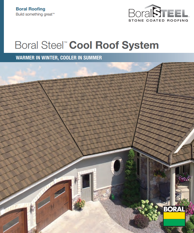 Boral Steel Cool Roof System