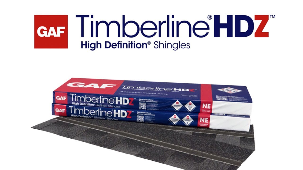 Timberline HDZ Shingles with LayerLock Technology