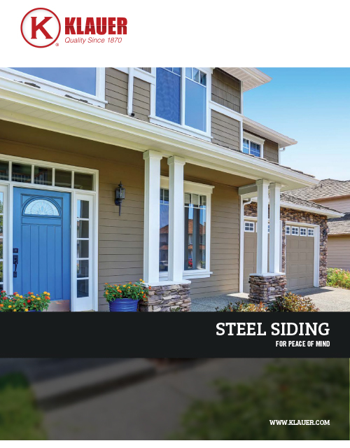 Steel Siding Catalog