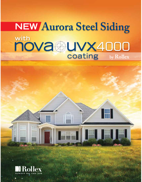 Aurora Steel Siding