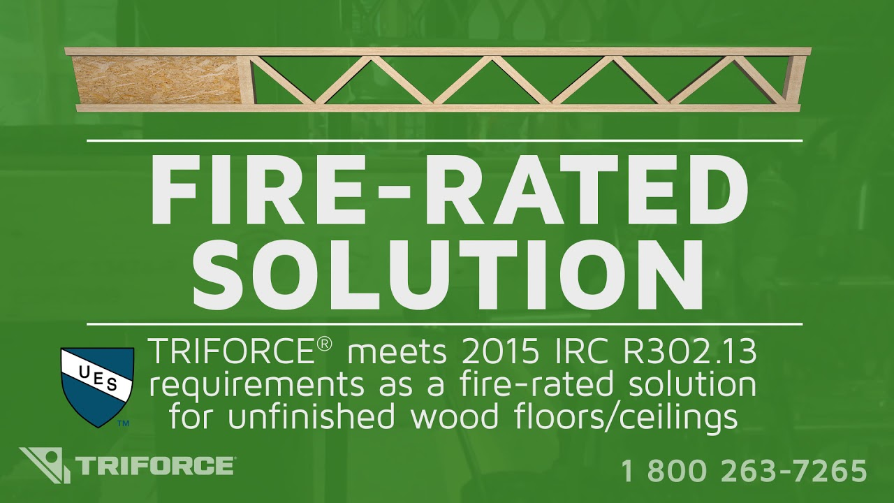 TRIFORCE®: Fire-Rated Solution