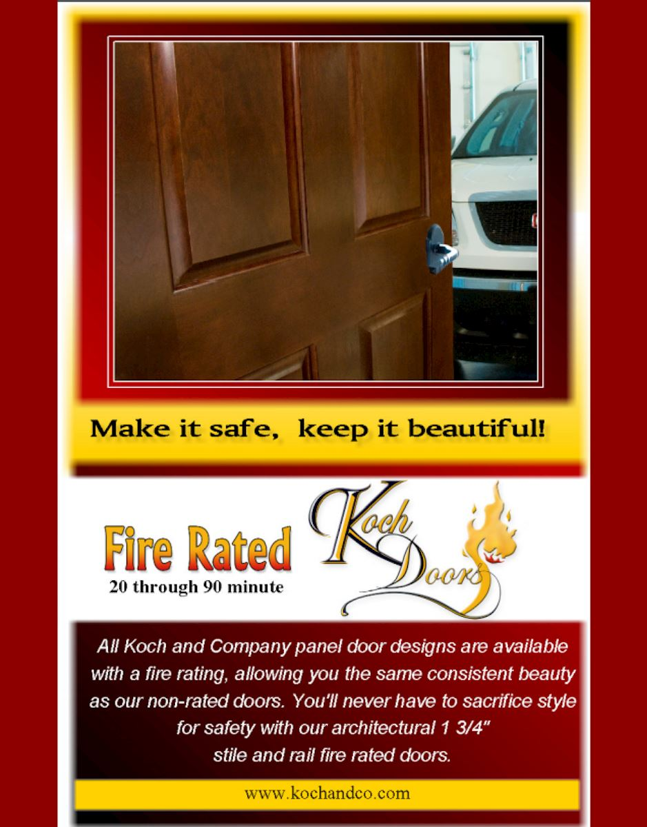 Koch Fire Rated Doors